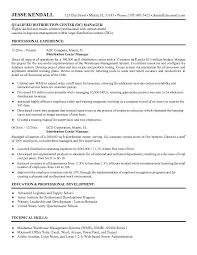 warehouse manager resume and get inspired to make your resume with these ideas 18 supply operation manager resume