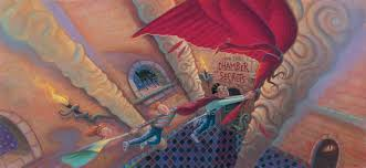 the harry potter book cover art series harry potter and the chamber of secrets