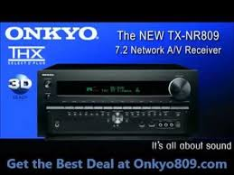onkyo 809. onkyo809 - read the best resources, deals, and onkyo 809 thx certified a/v receiver review