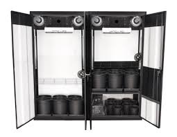 Hydroponic Grow Cabinet Trinity 30 Led Soil Grow Cabinet Supercloset