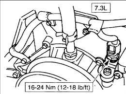 ford f350 7 3l super duty duelly i have a 2002 ford f350 7 3l 2000 F350 Water Pump Diagram engine coolant temperature (ect) sensor engine, front, rh cylinder head\