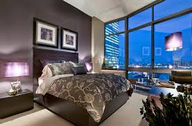 feature lighting ideas. bedroomsbeautiful bedroom with unique purple table lamps and grey modern comfort bed beautiful feature lighting ideas