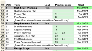 Excel Gantt Chart Template Giveaway Contextures Blog