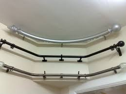 awesome curved curtain rod for your interior decor how to measure for a curved curtain