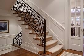 Modern stair rails - iron