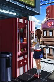 Girl Vending Machine Simple Wallpaper Vending Machine HD Dwallhd