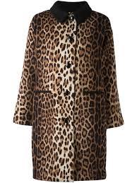 <b>Boutique Moschino пальто</b> с леопардовым принтом   Верхняя ...