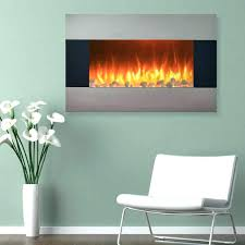 stanton 50 wall mount electric fireplace electric fireplace wall mount floor stand in stainless best wall