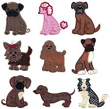 Newfoundland Embroidery Designs Top Dog Applique Sets Designs By Juju Embroidery Blog