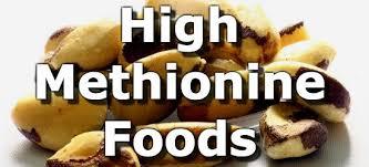 Foods Low In Methionine Chart Top 10 Foods Highest In Methionine