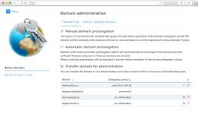 Domains. Manage domains in the web hosting Control Panel. Order ...