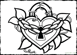 Heart Coloring Pages To Print Out Heart Coloring Page Heart Coloring