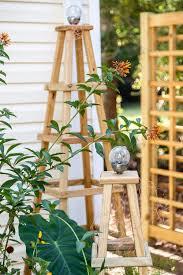 garden obelisk diy wooden obelisk