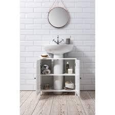 stow bathroom sink cabinet undersink in white
