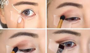 soft makeup look for blue eyes