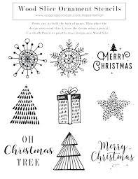 Ornament Cut Out Patterns Christmas Ornaments Cutouts Printable
