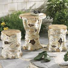 Birch Tree Trunk Stool - Furniture Home Decor & Home Furnishings Home  Accessories & Gifts |