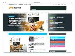 Magazine Style Website Template