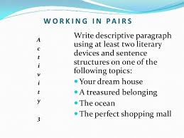 prerequisites of a good descriptive essay 27 list of descriptive