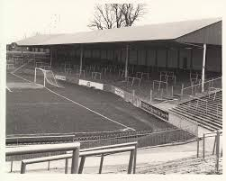 plymouth argyle home park devonport end 1 bw 1960s photograph by legendary football grounds