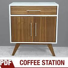 Mid Century Modern Cabinet Painted Kitchen Cabinets Designinteriorme