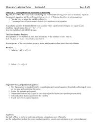 how to solve by factoring solving quadratic equations by factoring