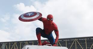 captain america civil war new spider man