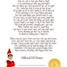 Valid Letters From Santa Magic Elf Kododa Co