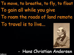 Hans Christian Anderson Quotes Best of A Hans Christian Andersen Quote Fairy Tale Week A Socrates Red
