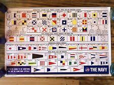 In many languages the spelling of an to provide correct information between people with a different language background one might use a spelling alphabet, where every letter and number is. Vintage 1969 Us Navy All Hands International Alphabet Flags Morse Code Poster For Sale Online Ebay