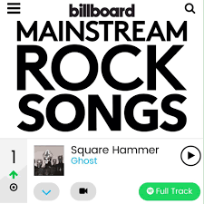 Billboard Mainstream Rock Chart Square Hammer Tops Billboard Chart Children Of Ghost