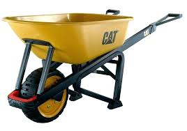 rubbermaid garden cart yard cart home depot garden carts 6 cu ft steel wheelbarrow commercial lawn