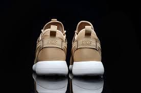 nike roshe two 2 leather white gold women s men s running shoes