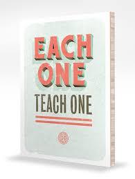each one teach one slogans k k club