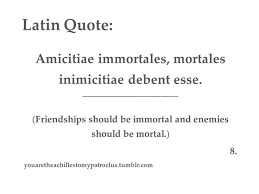 Latin Quotes About Friendship Custom Latin Quotes About Friendship Amusing 48 Best Latin Images On