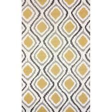 rugs with lattice pattern elegant garrard hand woven yellow area rug