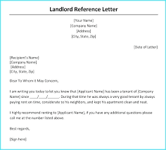 Landlord Reference Letters Impressive Reference Letter From Landlord Putasgae