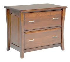 Wood Lateral File Cabinet 2 Drawer Amish File Cabinet Solid Wood Wooden Lateral 2 Drawer Office Home