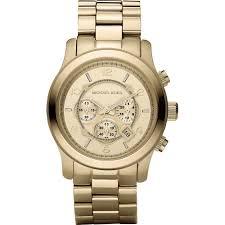 men s michael kors mk8077 francis gaye jewellers uk michael kors men s runway gold tone chronograph watch mk8077