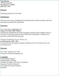 Fire Fighter Resume Firefighter Resume Samples Bunch Ideas Of Fire ...