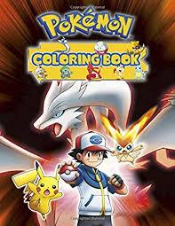 Amazoncom Pokemon Detective Pikachu English Coloring Books
