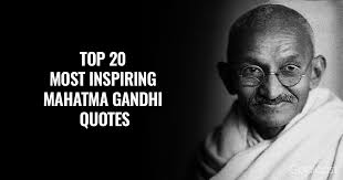 Ghandi Quote Cool Top 48 Most Inspiring Mahatma Gandhi Quotes Of All Time