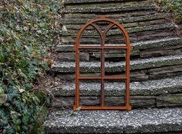 Nostalgie Stallfenster 68x40cm Fenster Gusseisen Eisen Rahmen Rost