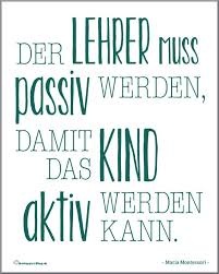 Montessori Zitate 10 Motivations Poster Zitate Montessori