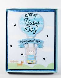 Congratulation On A Baby New Baby Boy Parents Boxed Greeting Card Congratulations Newborn Son