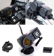 12v accessory socket 12v usb cigarette lighter waterproof power port outlet socket kit for motorcycle