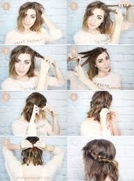 awesome diy waves hairstyle for short hair