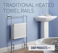 Image Wall Mounted Big Bathroom Shop Luxury Heated Towel Rails Designer Style At Best Heating