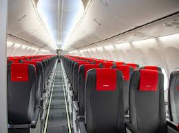 airline introduces slimmer seats on first of 12 737 max aircraft in