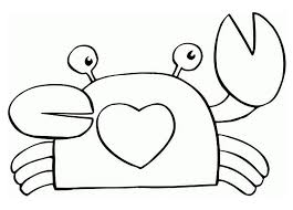 Small Picture Children Crab Coloring Pages Animal Coloring pages of